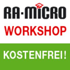 Kostenloser Workshop RA-MICRO PD+ und PDQ